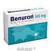 ben-u-ron 500mg Tabletten, 50 ST, Bene Arzneimittel GmbH