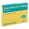 Zink Verla OTC 20mg, 20 ST, Verla-Pharm Arzneimittel GmbH & Co. KG
