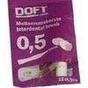 Interdentalbürste 0.5 mit Wechselgriff Doft, 12 ST, Axisis GmbH