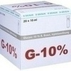 Glucose 10% Braun Mini-Plasco connect, 20X10 ML, B. Braun Melsungen AG