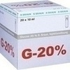 Glucose 20% Braun Mini-Plasco connect, 20X10 ML, B. Braun Melsungen AG