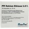 NATRIUMCITRAT 3,13% Ampullen, 10X10 ML, MediPac GmbH