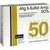 MG 5 SULFAT 50%, 5 ST, Drossapharm GmbH