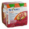 Resource Fruit Birne Kirsche, 4 × 200 Milliliter, Ghd Direkt Ii GmbH Vertriebslinie Nestle