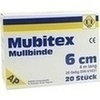 MUBITEX MULLBINDEN 6CM, 20 ST, Erena Verbandstoffe GmbH & Co. KG