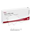 VESICA URINARIA GL D 5, 10X1 ML, Wala Heilmittel GmbH