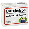 UNIZINK 50, 100 ST, Köhler Pharma GmbH