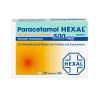 Paracetamol 500mg Hexal bei Fieber und Schmerzen, 20 Stück, HEXAL AG