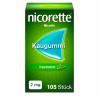 NICORETTE 2 mg freshmint Kaugummi, 105 Stück, Johnson & Johnson GmbH (OTC)