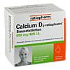 Calcium D3-ratiopharm Brausetabletten, 40 Stück, ratiopharm GmbH