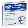 AmbroHEXAL Hustenlöser 30mg Tabletten, 20 Stück, HEXAL AG