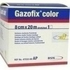 GAZOFIX color Fixierbinde 8 cmx20 m gelb, 1 ST, BSN medical GmbH