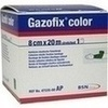 GAZOFIX color Fixierbinde 8 cmx20 m grün, 1 ST, BSN medical GmbH