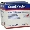 GAZOFIX color Fixierbinde 8 cmx20 m pink, 1 ST, BSN medical GmbH