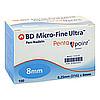 BD Micro FINE Ultra Pen-Nadeln 0.25x8mm, 100 ST, Medi-Spezial
