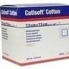 Cutisoft Cotton Kompressen steril 12-fach7.5x7.5cm, 25X2 ST, Bsn Medical GmbH