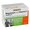 MAGNESIUM und VITAMIN E-ratiopharm, 60 ST, ratiopharm GmbH