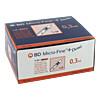 BD Micro-Fine+ U100 Demi 0.3x8mm, 100 ST, Becton Dickinson GmbH