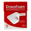 DracoFoam Schaumstoff Wundauflage 10x10cm, 10 ST, Dr. Ausbüttel & Co. GmbH