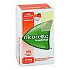 Nicorette 4mg Freshfruit Kaugummi, 105 Stück, Emra-Med Arzneimittel GmbH