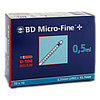 BD Micro-Fine+ U100 Ins.Spr.12.7mm, 100X0.5 ML, Becton Dickinson GmbH