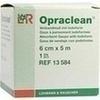 Opraclean Verbandmull mit Jodoform 6cmx5m, 1 ST, Lohmann & Rauscher GmbH & Co. KG
