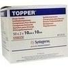 TOPPER Schlitzkompr. ster.10x10cm, 50X2 ST, Kci Medizinprodukte GmbH