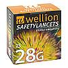 Wellion Safetylancets 28G Sicherheitseinmallanzett, 25 ST, Med Trust GmbH