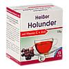 Heisser Holunder+Vit.C+Zink, 15X10 G, Pharma-Peter GmbH