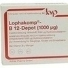 LOPHAKOMP B 12 Depot 1000 \m63g Injektionslösung, 5X2 ML, Köhler Pharma GmbH