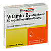 Vitamin-B1-ratiopharm 50mg/ml Injektionslösung, 5X2 ML, ratiopharm GmbH