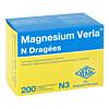 MAGNESIUM VERLA N Dragees, 200 ST, Verla-Pharm Arzneimittel GmbH & Co. KG