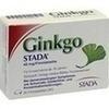 GINKGO STADA 40 mg Filmtabletten, 30 ST, STADA GmbH