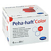 Peha Haft Color Fixierbinde 6cmx20m rot, 1 ST, 1001 Artikel Medical GmbH