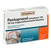 Pantoprazol-ratiopharm SK 20mg magensaftres. Tbl., 14 ST, ratiopharm GmbH