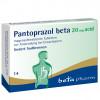 Pantoprazol beta 20mg acid magensaftresist. Tabl., 14 ST, betapharm Arzneimittel GmbH