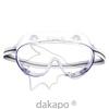 Schutzbrille mit Seitenschutz PVC transp., 1 ST, Auxynhairol Vertrieb GmbH