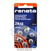 Renata Hörgerätebatterie ZA13, 6 ST, Batterien-Spezialgroßhandlung G. Lenz Inh.: Michael Manthe E.K.