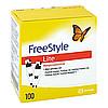 Freestyle Lite Teststreifen ohne Codieren, 100 ST, Diaprax GmbH
