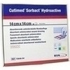 Cutimed Sorbact Hydroactive 14x14cm, 10 ST, Bsn Medical GmbH