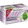 H&S Melisse-Orangenblüte, 20X2.0 G, H&S Tee - Gesellschaft mbH & Co.