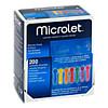 MICROLET Lanzetten farbig, 200 ST, Ascensia Diabetes Care Deutschland GmbH