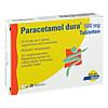 Paracetamol dura 500mg Tabletten, 20 Stück, Mylan dura GmbH