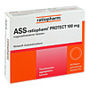 ASS-ratiopharm PROTECT 100mg, 100 ST, ratiopharm GmbH