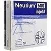 NEURIUM 600 INJEKT, 5 Stück, HEXAL AG