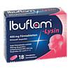 Ibuflam Lysin 400mg Filmtabletten, 18 ST, Sanofi-Aventis Deutschland GmbH
