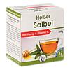 Heisser Salbei mit Honig + Vitamin C, 12X12 G, Pharma Peter GmbH