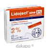 LIDOJECT sine 2% Injektionslösung in Ampullen, 5 ST, Hexal AG