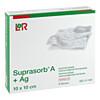 Suprasorb A+AG Antimikro Cal. Kompr.10x10cm, 8 ST, Lohmann & Rauscher GmbH & Co. KG