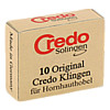 Credo Ersatzklingen zum CREDO-Hornhauthobel 4744, 10 ST, Credo-Stahlwarenfabr.Gustav Kracht
